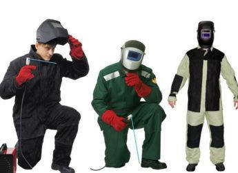 Защитные костюмы для сварщиков