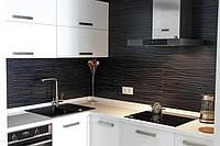 Кухня с крашеными фасадами МДФ, фурнитура Blum