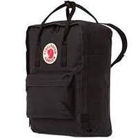 Сумка - рюкзак Fjallraven Kanken Classic с органайзером, черный, полиэстер, 16л, рюкзак женский , фото 1