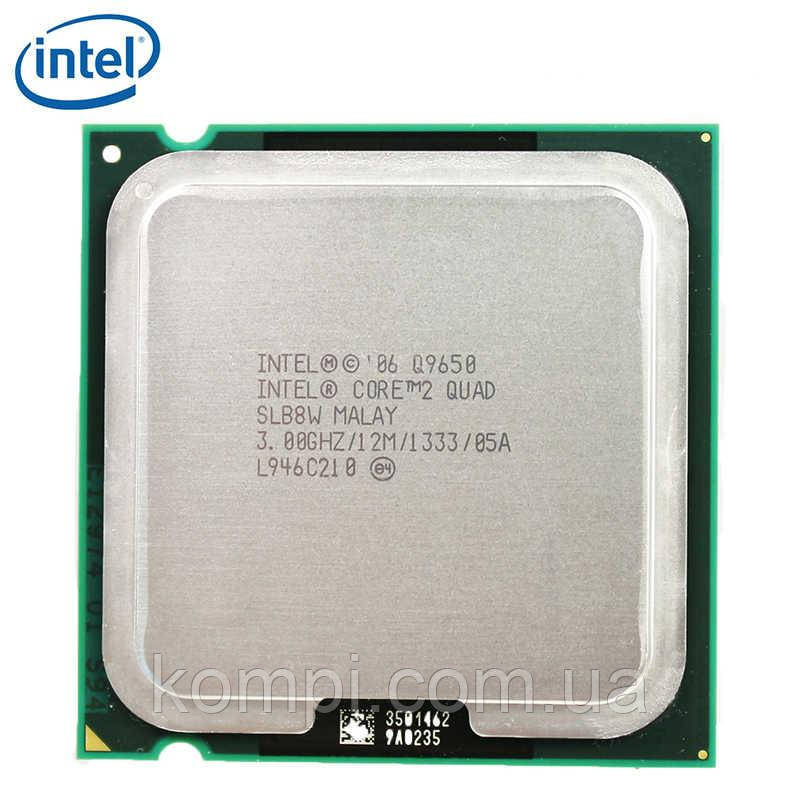 Процессор Intel Core 2 Quad Q9650 (SLB8V, 12M Cache, 3.0 GHz, 1333 MHz FSB) s775