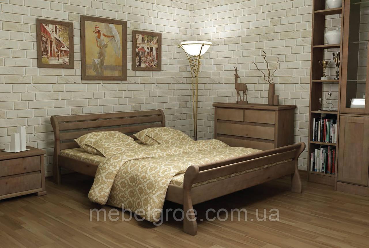 Деревянная двухспальная кровать 180 Верона тм Mebigrand