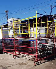 Вишка-тура будівельна пересувна 2.0 х 2.0 м, 2+1, фото 3