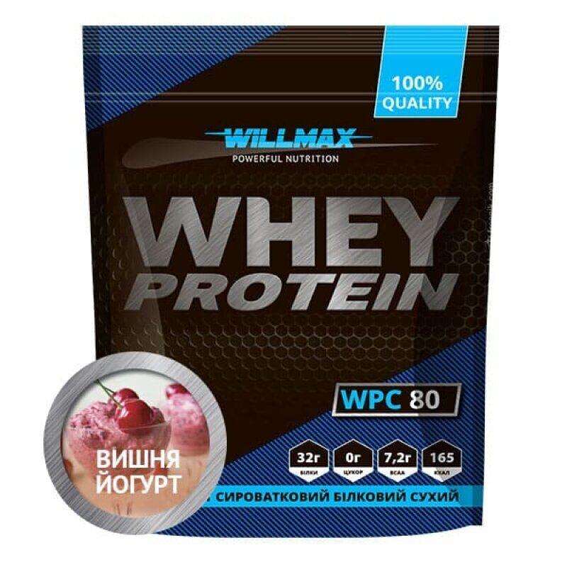 Протеин сывороточный Whey Protein 80% 920g вкус Willmax