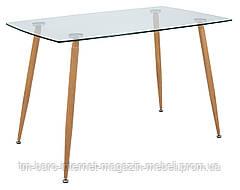 Стол стеклянный Итали, 70*120*75h, стекло прозрачное, Richman