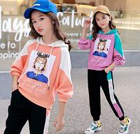 Стильний спортивний костюм для дівчинки / Стильный спортивный костюм для девочки