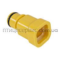 Перехід з регулятора тиску на трубу 22х22 мм Lubing, фото 1