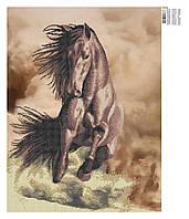 Благородный конь. Схема вышивки бисером