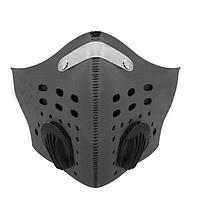 Mногоразовая маска со съёмным фильтром D30 серая