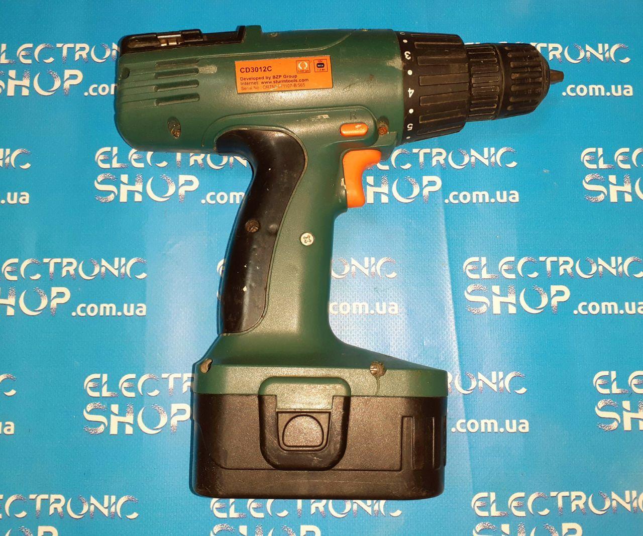 Шуруповерт аккумуляторный Sturm CD3012C б.у