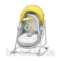 Шезлонг-качалка 5 в 1 Kinderkraft Unimo Yellow (KKKUNIMYEL0000)