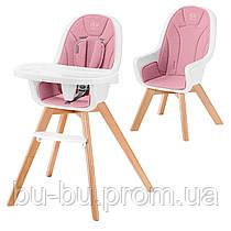 Стульчик для кормления Kinderkraft Tixi Pink (KKKTIXIPNK0000)