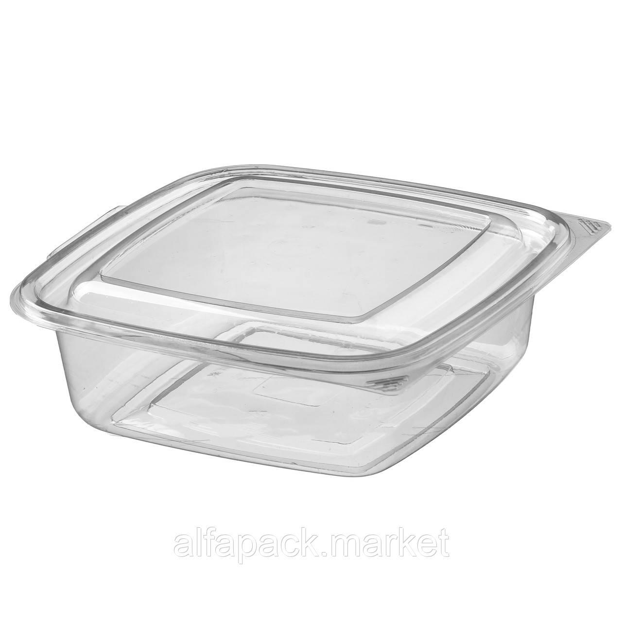 ПР-СК-РГ-750 Упаковка для салатов 750 мл, 168*168*60 (200 шт в упаковке) 010200033
