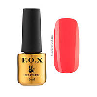Гель лак малиновый F.O.X gel-polish Feel the Tropics, 6ml №515