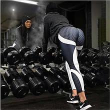 Леггинсы Sportmix женские для фитнеса принт в наличии размер L, XL