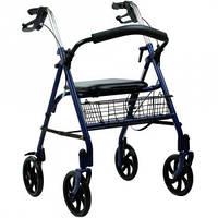 Стальной синий роллер OSD-CLS902,  ходунки для инвалидов и пожилых людей, роллер стальной медицинский