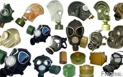 Защитные маски фильтра противогазы