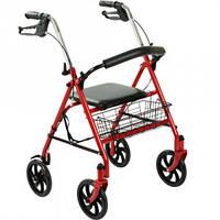 Стальной красный роллер OSD-CLS901,  ходунки для инвалидов и пожилых людей, Роллер