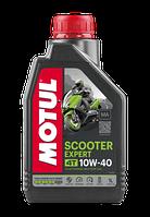 Моторное масло MOTUL SCOOTER EXPERT 4T 10W-40 MA (1л), фото 1