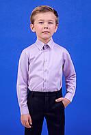 Zironka Рубашка сиреневая для мальчика 42-9003-4