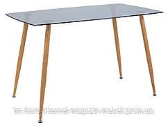 Стол стеклянный Итали, 70*120*75h, стекло тонированное, Richman