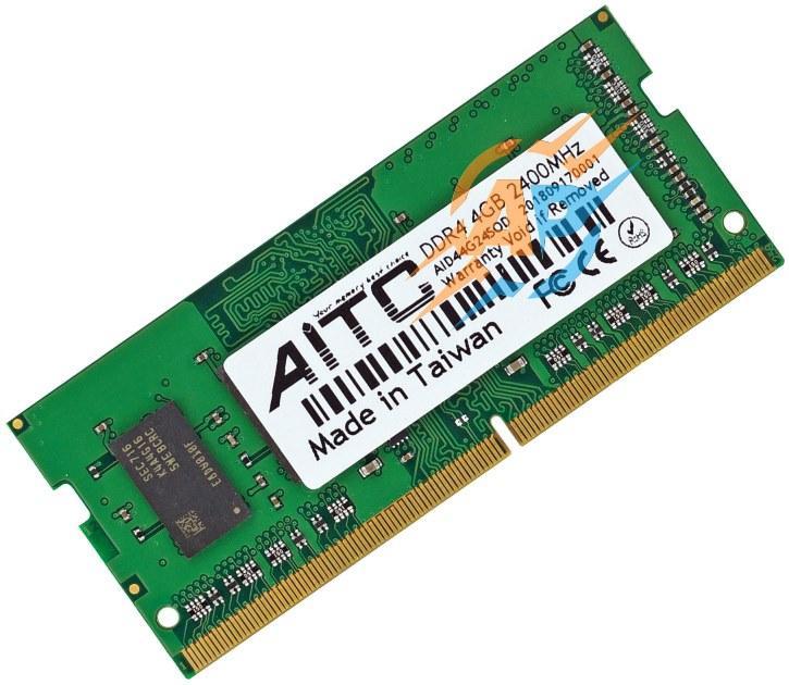 Оперативная память DDR4 4Gb 2400Мгц 1.2v INTEL и AMD SoDIMM AID44G24SOD для ноутбуков