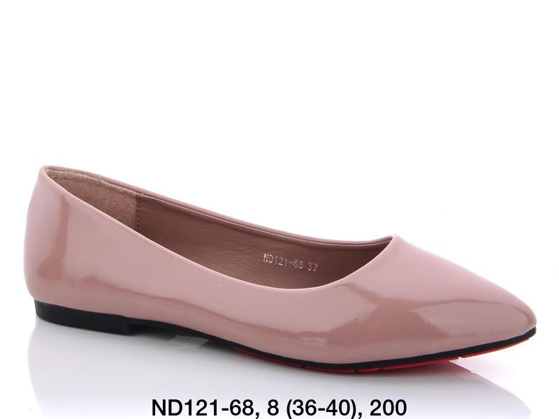 Балетки женские розовые Teetspace-Trasta-Egga-ND121-68