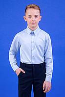 Zironka Рубашка голубая для мальчика 42-9003-2