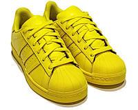 Кроссовки Adidas Superstar Supercolor Yellow, фото 1