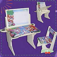Детская парта со стулом