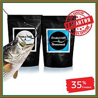 Double Fish для рыбы Приманка (15 г) + Прикормка (15 г) (Дабл Фиш), фото 1