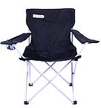 Туристический раскладной стул Spokey Angler Черный ( 839631), фото 2