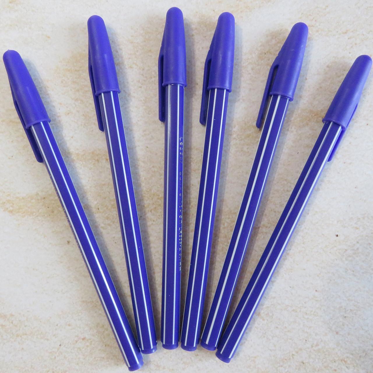 Ручка масляная Айхао синяя