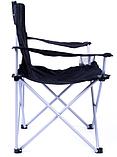 Туристический раскладной стул Spokey Angler Черный ( 839631), фото 3