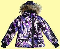 Лыжный сиреневый комплект для девочки, подростка, фото 1