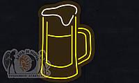 """Табличка """"Пиво"""" световая"""