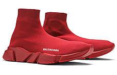 """Кроссовки Balenciaga Speed Trainer """"Красные"""", фото 3"""