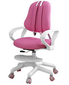 Детское растущее кресло ErgoKids розовое + чехол в подарок