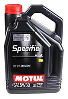 Моторное масло MOTUL SPECIFIC DEXOS2 5W30 (5л) ACEA C3; API SM/CF, фото 1
