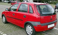 Защита окон дефлекторы, ветровики для Opel Corsa 4d/5d 2000-2005 \ Опель Корса седан и хэтчбэк  (T112A70 3M)