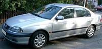 Защита окон дефлекторы, ветровики для Toyota Avensis 4d/5d 1997-2003 \ Тойота Авенсис (29323 / 056)