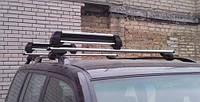 Автомобильное крепление на крышу для перевозки лыж и сноубордов, багажник для лыж с замком (8608)