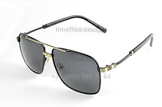 Чоловічі окуляри авіатори Louis Vuitton Чорні AAA Copy