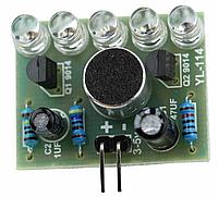 Модуль захвата звука со светодиодной индикацией. Набор для самостоятельной сборки DIY kit, фото 1