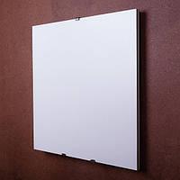 """Керамико-углеродная нагревательная панель """"Quantum Electric"""", белый матовый 600*600"""