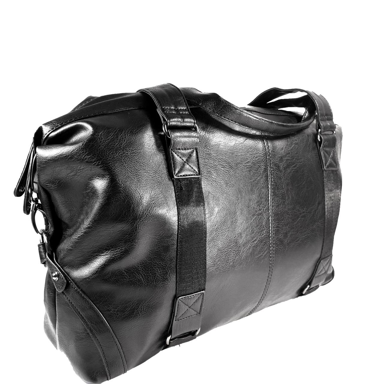 Дорожная сумка из экокожы