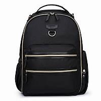 Сумка-рюкзак для мамы и малыша Мommore с пеленальным ковриком Черный (MM3101305A001)