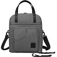 Сумка-рюкзак для мамы и малыша Мommore Серая (0090210A008)
