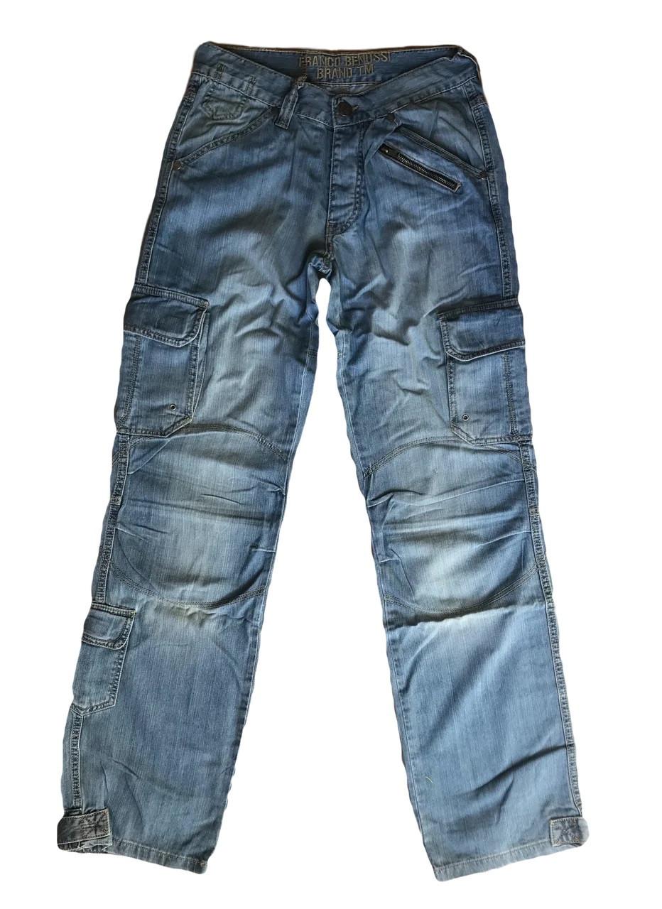Джинсы мужские Franco Benussi 1123 синие