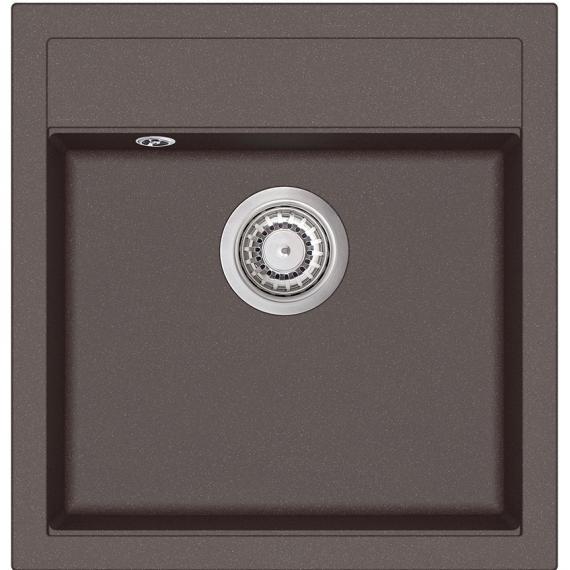 Мойка для кухни гранитная Aquasanita Tesa SQT 100W-120 коричневый