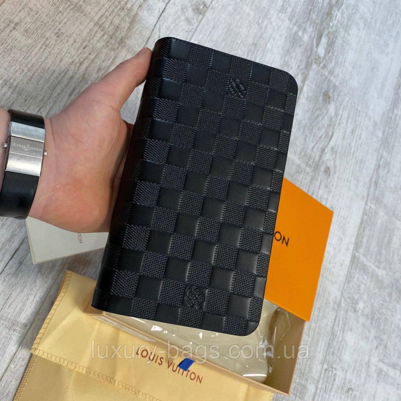 Клатч чоловічий шкіряний Louis Vuitton